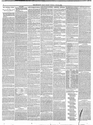 The Brooklyn Daily Eagle From New York On June 15 1884