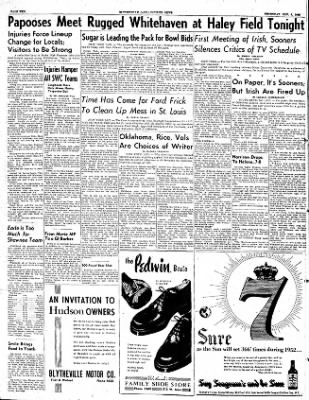 The Courier News from Blytheville, Arkansas on November 6, 1952 · Page 10