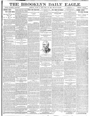 The Brooklyn Daily Eagle from Brooklyn, New York on June 4, 1897 · Page 1