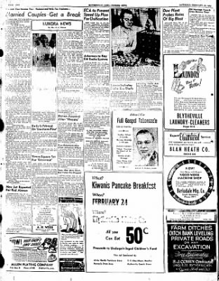 The Courier News from Blytheville, Arkansas on February 18, 1950 · Page 2
