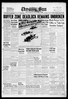 The San Bernardino County Sun from San Bernardino, California on August 13, 1951 · Page 1