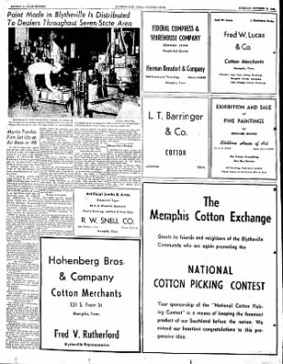 The Courier News from Blytheville, Arkansas on October 10, 1950 · Page 16