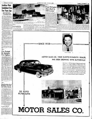 The Courier News from Blytheville, Arkansas on October 10, 1950 · Page 26