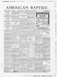 Sample American Baptist front page