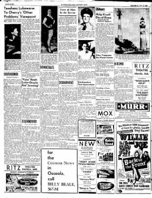 The Courier News from Blytheville, Arkansas on November 8, 1952 · Page 8