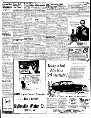 The Courier News from Blytheville, Arkansas on February 21, 1950 · Page 12