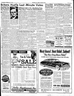 The Courier News from Blytheville, Arkansas on February 22, 1950 · Page 5