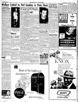 The Courier News from Blytheville, Arkansas on February 22, 1950 · Page 12