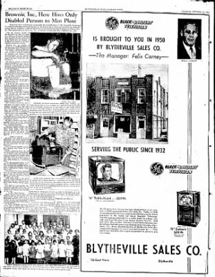 The Courier News from Blytheville, Arkansas on October 10, 1950 · Page 89