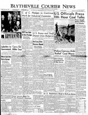 The Courier News from Blytheville, Arkansas on February 25, 1950 · Page 1