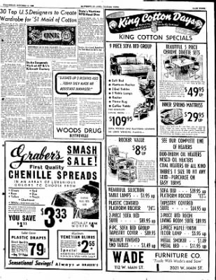 The Courier News from Blytheville, Arkansas on October 11, 1950 · Page 3