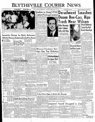 The Courier News from Blytheville, Arkansas on February 28, 1950 · Page 1