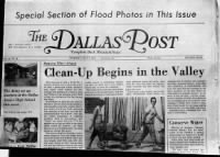 Sample The Dallas Post front page