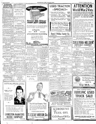 The Courier News from Blytheville, Arkansas on February 28, 1950 · Page 16