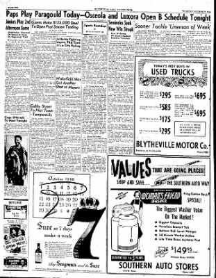 The Courier News from Blytheville, Arkansas on October 12, 1950 · Page 10
