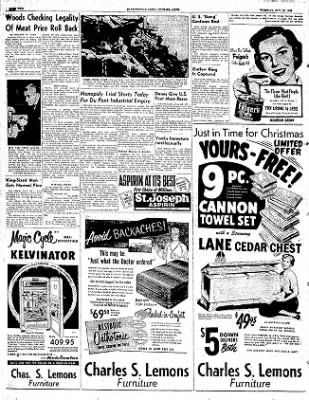 The Courier News from Blytheville, Arkansas on November 18, 1952 · Page 2