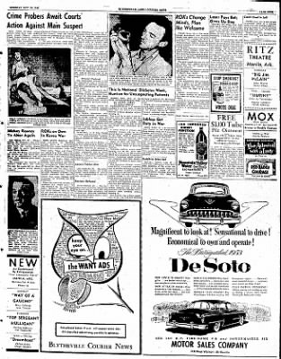 The Courier News from Blytheville, Arkansas on November 18, 1952 · Page 5