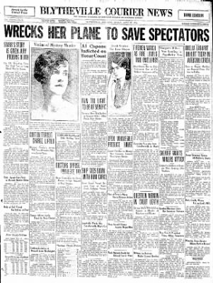 The Courier News from Blytheville, Arkansas on June 12, 1931 · Page 1