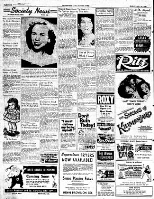 The Courier News from Blytheville, Arkansas on November 21, 1952 · Page 4
