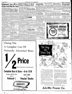 The Courier News from Blytheville, Arkansas on March 7, 1950 · Page 12