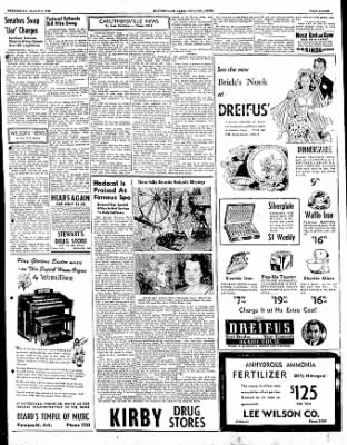 The Courier News from Blytheville, Arkansas on March 8, 1950 · Page 3