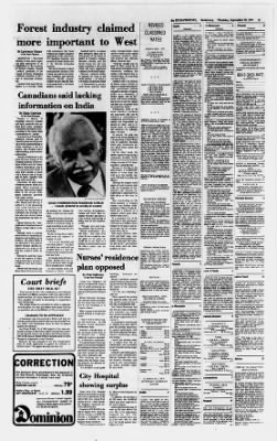Star-Phoenix from Saskatoon, Saskatchewan, Canada on September 29, 1977 · 25
