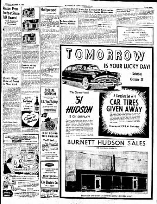 The Courier News from Blytheville, Arkansas on October 20, 1950 · Page 9