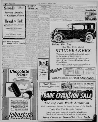 The Escanaba Daily Press from Escanaba, Michigan on September 18, 1924 · Page 3