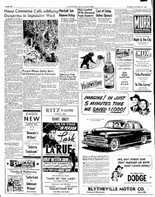 The Courier News from Blytheville, Arkansas on October 24, 1950 · Page 6