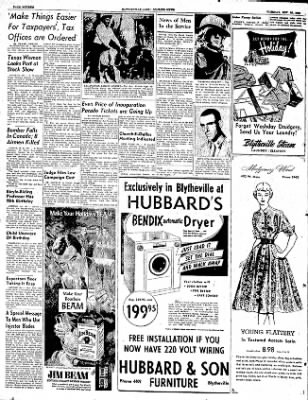 The Courier News from Blytheville, Arkansas on November 25, 1952 · Page 16