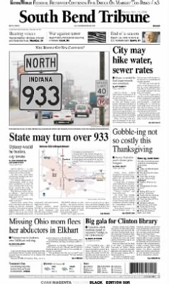 The South Bend Tribune from South Bend, Indiana on November 19, 2004 · A1