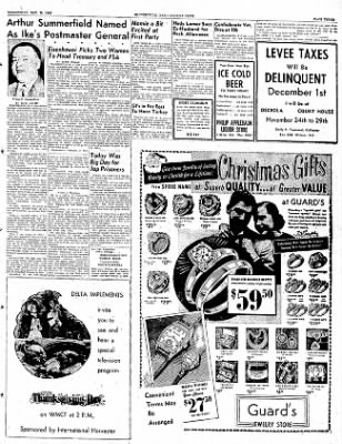 The Courier News from Blytheville, Arkansas on November 26, 1952 · Page 3