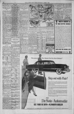 The Kansas City Times from Kansas City, Missouri on April 3, 1954 · Page 28