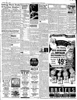 The Courier News from Blytheville, Arkansas on December 1, 1952 · Page 3