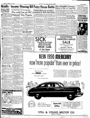 The Courier News from Blytheville, Arkansas on March 20, 1950 · Page 3