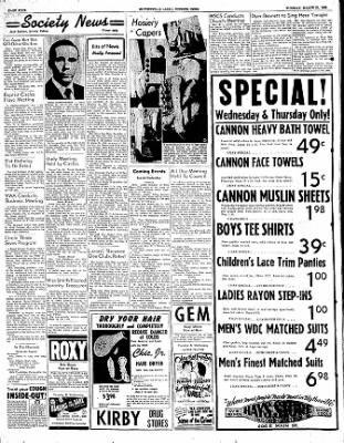 The Courier News from Blytheville, Arkansas on March 21, 1950 · Page 4