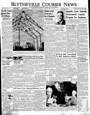 The Courier News from Blytheville, Arkansas on March 22, 1950 · Page 1