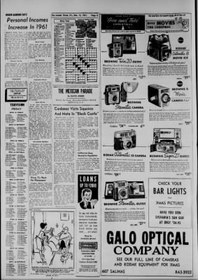 The Laredo Times from Laredo, Texas on December 15, 1961