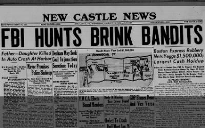 FBI Hunts Brink Bandits