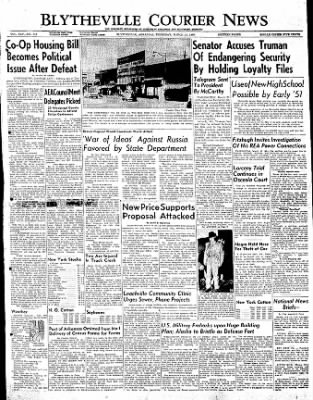 The Courier News from Blytheville, Arkansas on March 23, 1950 · Page 1