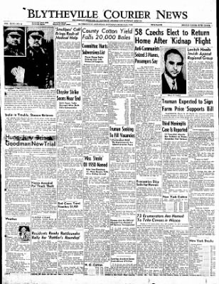 The Courier News from Blytheville, Arkansas on March 25, 1950 · Page 1