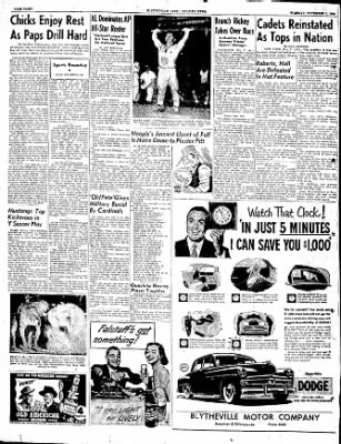 The Courier News from Blytheville, Arkansas on November 7, 1950 · Page 8