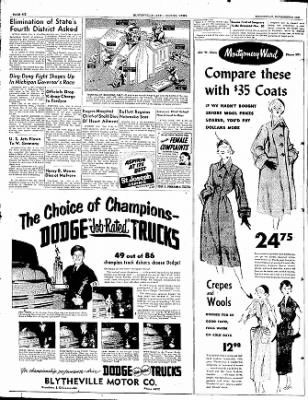 The Courier News from Blytheville, Arkansas on November 8, 1950 · Page 6