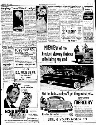 The Courier News from Blytheville, Arkansas on December 9, 1952 · Page 7