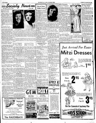 The Courier News from Blytheville, Arkansas on March 28, 1950 · Page 4
