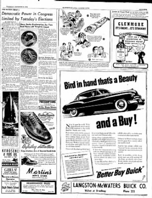 The Courier News from Blytheville, Arkansas on November 9, 1950 · Page 9