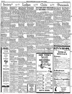 The Times From San Mateo California On July 11 1932 Page 4