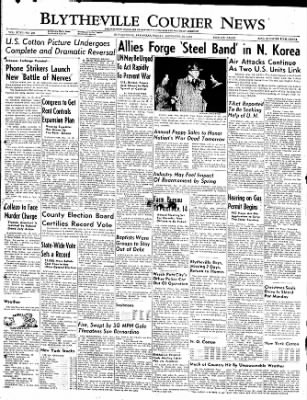 The Courier News from Blytheville, Arkansas on November 10, 1950 · Page 1