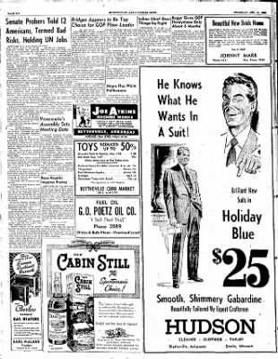 The Courier News from Blytheville, Arkansas on December 11, 1952 · Page 6