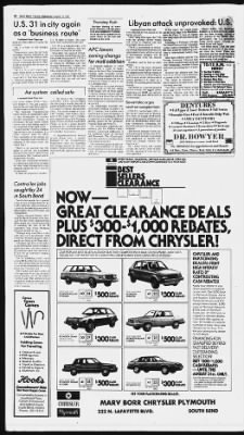 The South Bend Tribune from South Bend, Indiana on August 19, 1981 · 10